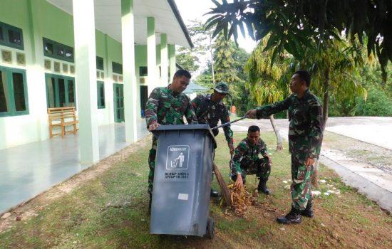 Rutinitas Personel Kodim 0110/Abdya Sebelum Memulai Kerja