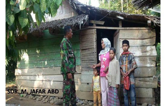 Kodim Aceh Utara Gandeng BRI Bangun Rumah Tidak Layak Huni
