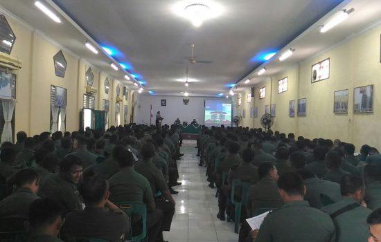 Prajurit Kodim Aceh Utara Terima Sosialisasi TWP dan KPR oleh Tim BP TWP AD