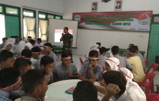 Kodim 0112/Sabang sosialisasi WMBN Kepada Pelajar SMA Negeri 2