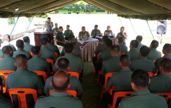 Terima Senjata Sisa Konflik, Pangdam Apresiasi prajurit Kodim 0114/Aceh Jaya