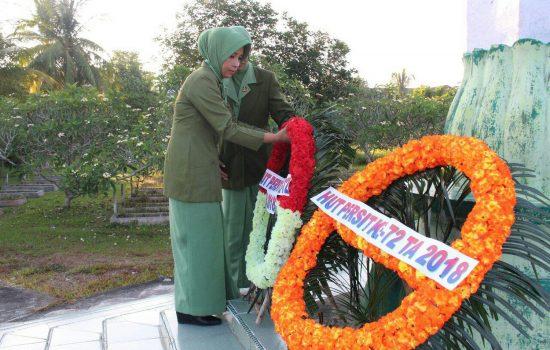 Persit Ranting 2 Raider Khusus 111 Ziarah Ke TMP Kota Langsa