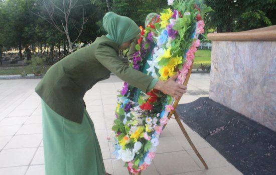 HUT Persit ke 72, Persit PD Iskandar Muda Ziarah