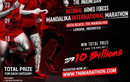 The Indonesian National Armed Forces, Mandalika International Marathon