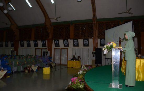 Ketua Dharma Pertiwi Daerah R Buka Sosialisasi PAUD Holistik Terintegratif