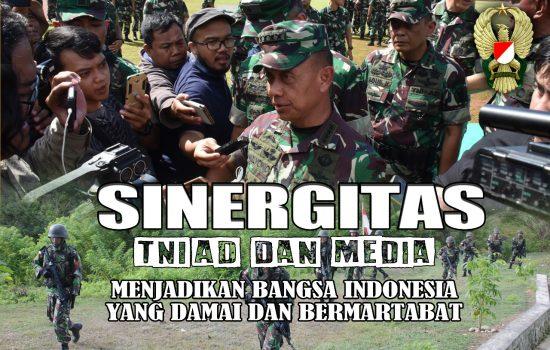 Sinergitas TNI AD dan Media