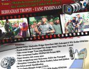 "Kodim 0104/Atim Selenggarakan Lomba Video, Dandim : ""Yang Muda Mari Berkarya"""