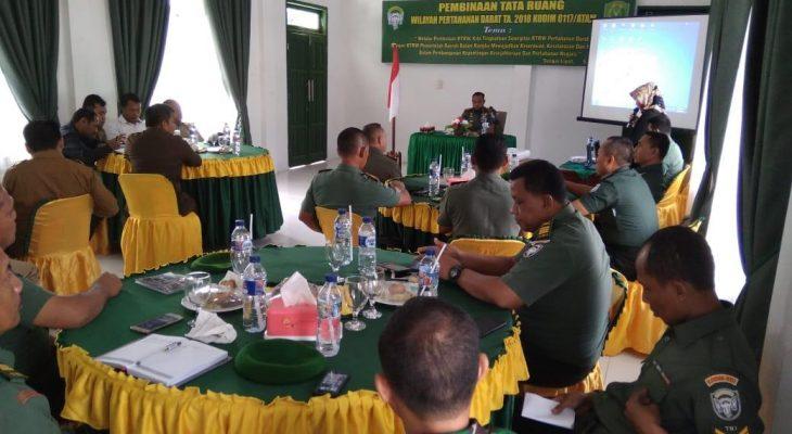Dandim 0117/Atam Gelar Pertemuan Bersama Unsur Forcopincam