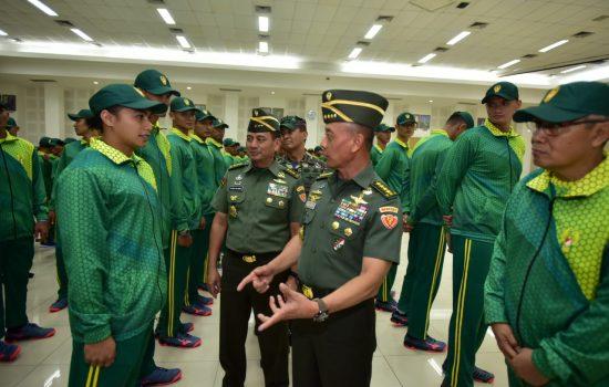 KASAD : PIALA PANGLIMA TNI 2018 AJANG UNJUK PRESTASI DAN MOMEN TINGKATKAN SOLIDITAS SESAMA PATRIOT BANGSA