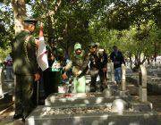 Pangdam IM Ziarah TMP dalam Rangka HUT TNI ke 73