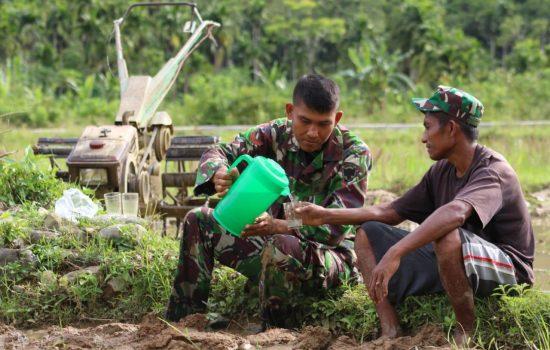 Kopda Ali Aman, Bukti Profesionalisme TNI untuk Rakyat