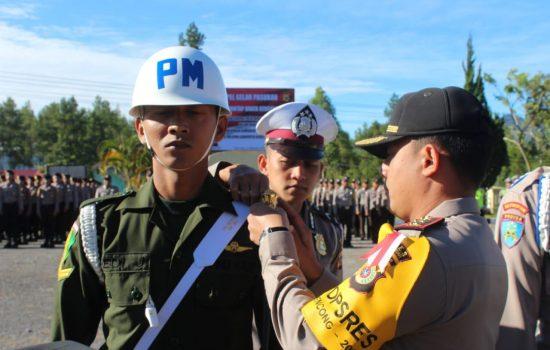TNI-Polri Gelar Apel Pasukan Ops Mantap Brata Rencong Ta. 2018.