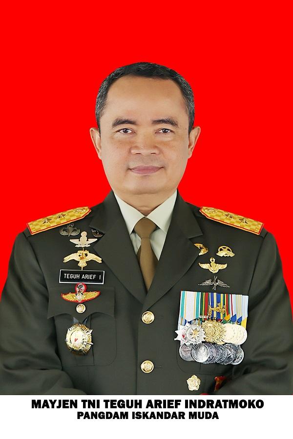 Mayjen TNI Teguh Arief Indratmoko