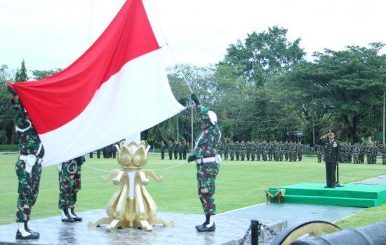 Korem 012/TU Gelar Upacara Peringati Hari Pahlawan