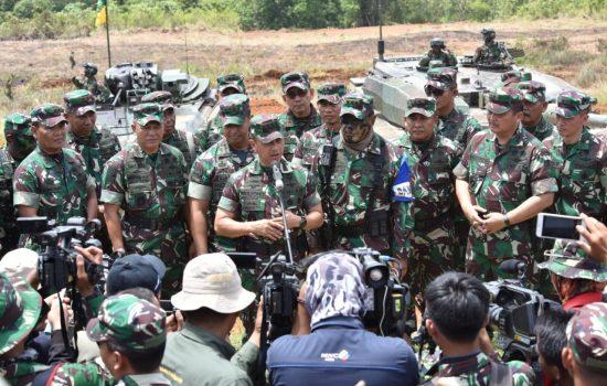 Kasad : Latihan Ancab TNI AD  2018 Akumulasi Kemampuan Tempur