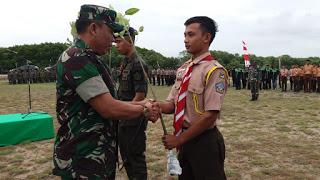 Peringati HJK ke 73, Kodim Aceh Utara Tanam 1000 Pohon Manggrove