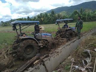 Babinsa dan Petani Bersinergi Dalam Meningkatkan Swasembada Pangan