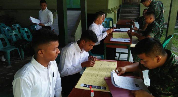 Ajendam IM Buka Pendaftaran Tamtama Prajurit Karier TNI AD tahun 2019