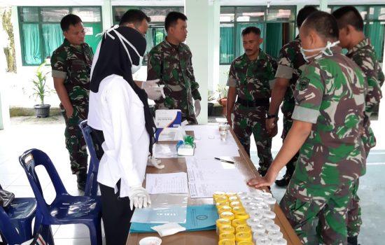 Kodim 0107/Aceh Selatan Laksanakan Kegiatan Penyuluhan P4GN dan Cek Uriene