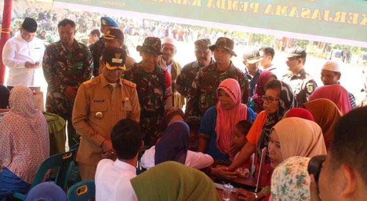 Gerak Cepat TNI Bangun Desa Pasimbe yang Tertinggal