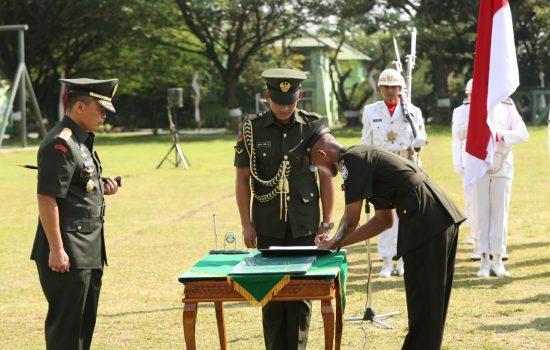 Pangdam IM Tutup Dikmata TNI AD Gelombang II TA 2018