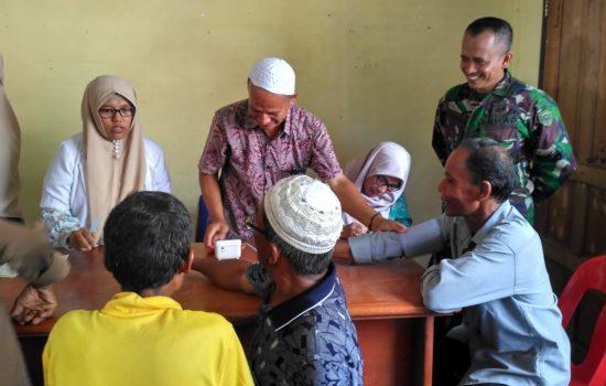 Kodim Aceh Jaya Gelar Pengobatan Massal di Teunom