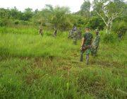 Dankima Yonif 116/GS Ajak Prajurit Gotong Royong
