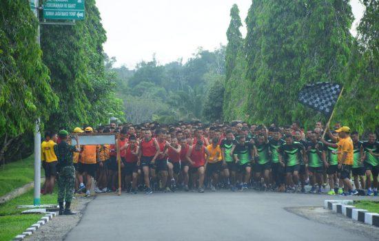 Danrem 012/TU Pimpin Lari 5 K