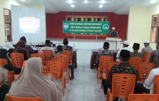 Peltu Erfin Sormin Laksanakan Komsos dan Buka Puasa Bersama Masyarakat