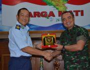 Pangdam IM Terima Kunjungan Kehormatan Kasau Brunei