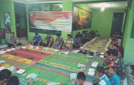 Jaga Hubungan Silaturahmi, Keluarga Besar Koramil 02/Kuala Batee Buka Puasa Bersama