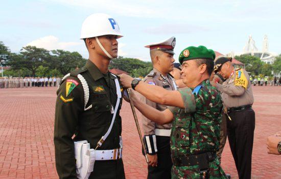 Kapolda Aceh dan Pangdam IM Irup Apel Pasukan Ketupat Rencong 2019