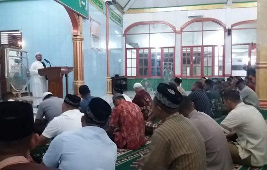 Korem 012/TU Gelar Malam Nuzulul Quran 1440 H/2019 M