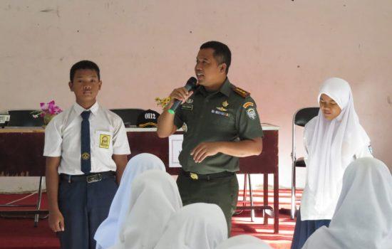 Ratusan Siswa Terima Materi Wasbang dari Dandim 0112/Sabang