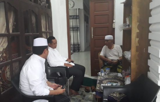 Dandim 0107 Silaturahmi dengan Pimpinan Ponpes AL IKSAN