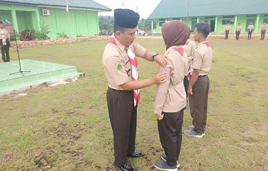 SMA dan SMK Se-Kota Subulussalam Mengikuti Persami Pramuka Kodim 0118/Subulussalam