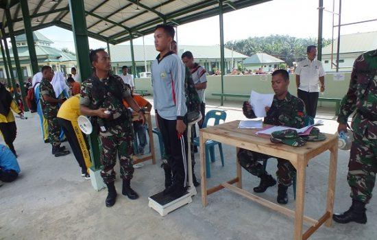 Kodim 0117/Atam dan Dispora Seleksi Pasukan Paskibraka