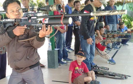Rangkaian HUT RI ke-74, Kodim Agara Gelar Lomba Menembak