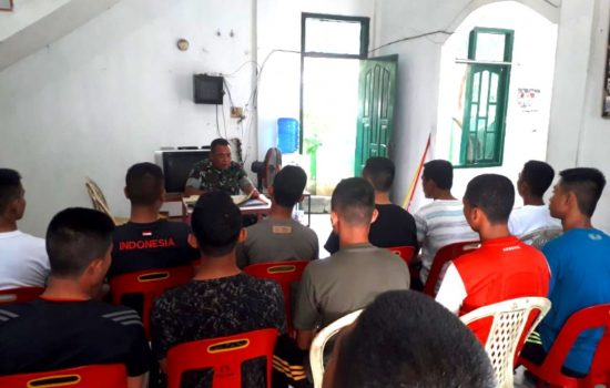 Danramil 13/KTA Beri Arahan Kepada Calon Prajurit TNI AD