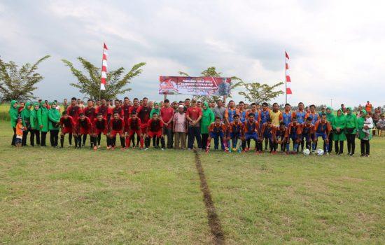 Brigif 25/Siwah Gelar Turnamen Sepak Bola Danbrigif Cup 2019