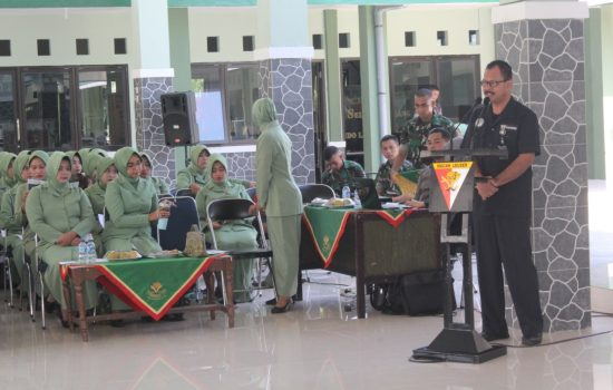 Prajurit Yonif 115/ML Terima Sosialisasi Program ASABRI