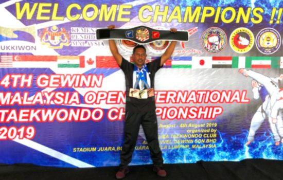 Atlet Taekwondo Kodim 0101/ BS Raih Prestasi