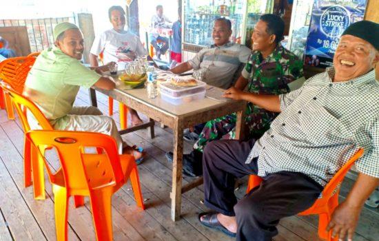 Babinsa Desa Lamtipeung Himbau Masyarakat Cegah Narkoba Masuk Ke Lingkungan