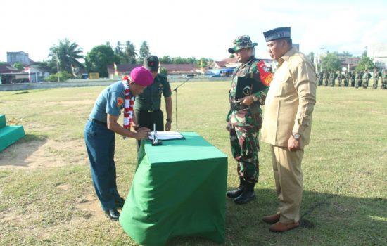 LO TNI AL Kodam IM tutup TMMD di Aceh Singkil