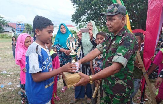 Infolahtadam IM Antusias Rayakan HUT kemerdekaan RI bersama Warga Gampong Mulia