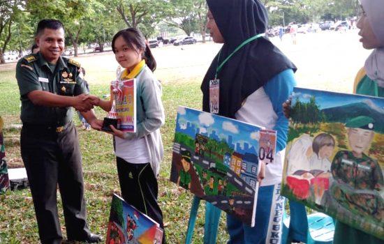 Kodim 0101/BS Gelar Lomba Lukis Tingkat SMA Se Kota Banda Aceh