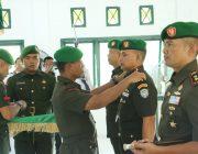 Danrem 012/TU Pimpin Acara Tradisi dan Upacara Sertijab Dua Dandim