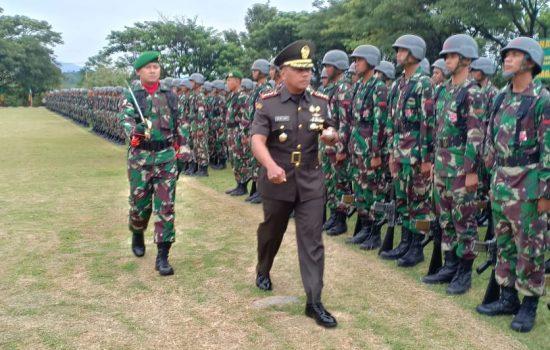 Danrindam IM Buka Dikjur Tamtama Infanteri Gelombang I Tahun Anggaran 2019
