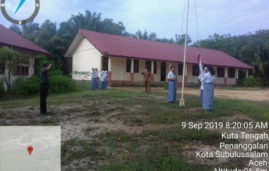 Bamin Posramil Penanggalan Jadi Irup Upacara Bendera di Sekolah