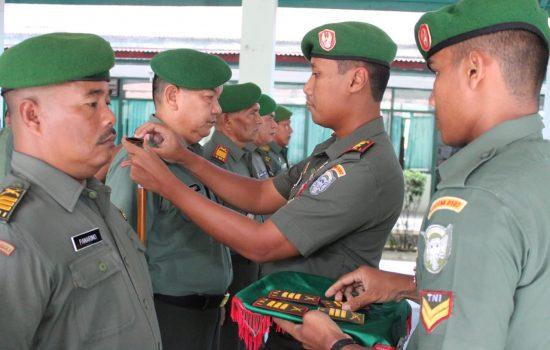 Dandim 0107/Aceh Selatan Pimpin Acara Korps Rapot